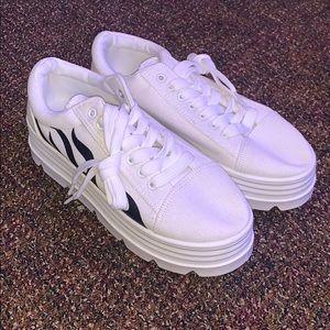 BNWOT Nasty Gal Sneakers Size 8